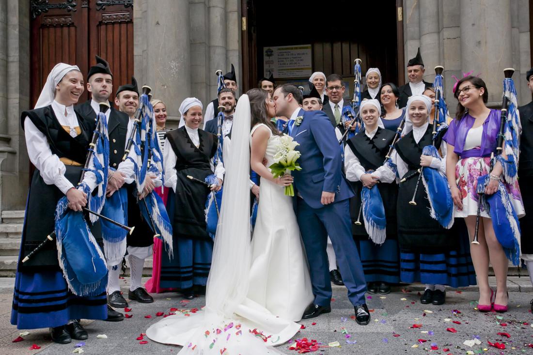 boda en oviedo_banda de gaitas