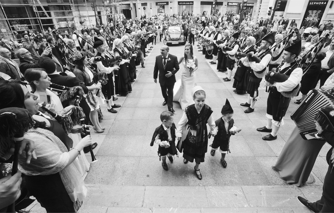 Boda y banda de gaitas Oviedo